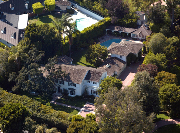 Renee Zellweger Bel Air Celebrity Homes Lonny