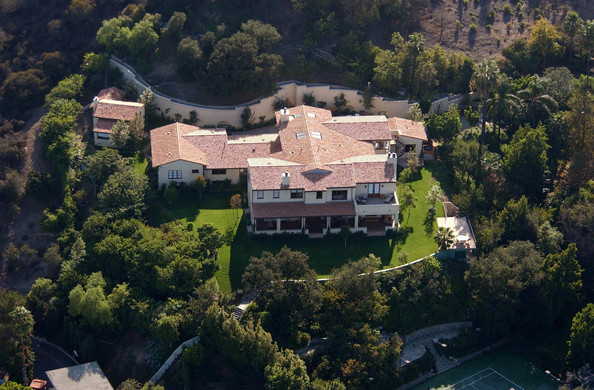 Justin Timberlake villa in Hollywood, California