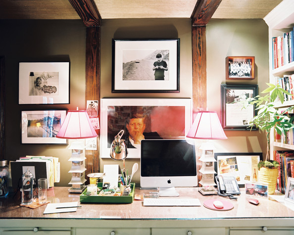 Stupendous Decorated Work Space Home Office Design Ideas Lonny Largest Home Design Picture Inspirations Pitcheantrous