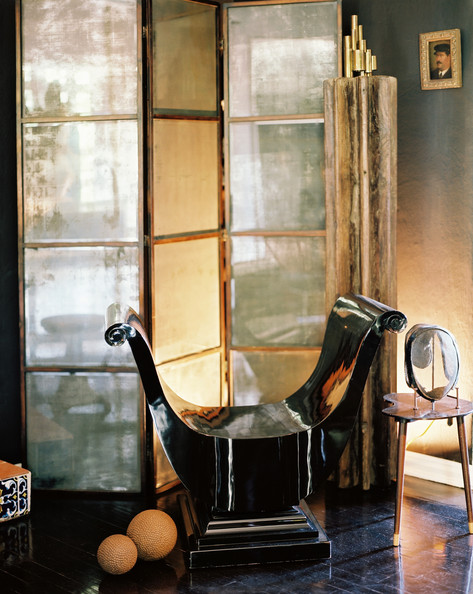 How to decorate with folding screens