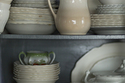 A collection of vintage ironstone china assembled over many years