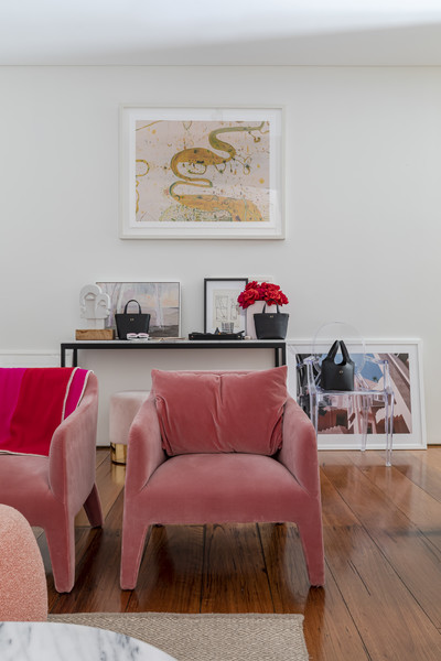 Pink Living Room Photos (16 of 131)