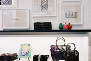 An array of kate spade new york merchandise on display