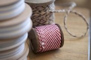 Spools of ribbon and twine at Napa Valley's Poor House