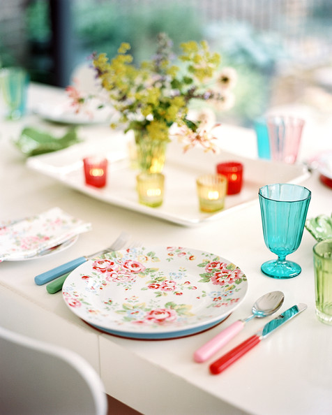 Floral Dinnerware Photos (1 of 1) & Floral Dinnerware Photos Design Ideas Remodel and Decor - Lonny