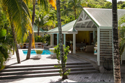 Beach Eclectic Tropical Exterior