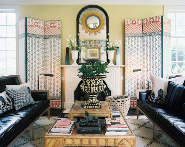 Bohemian living room photos 102 of 144 lonny for Bohemian living room decorating ideas
