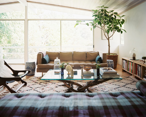 Bohemian living room photos 5 of 144 lonny for Country living modern rustic issue 4