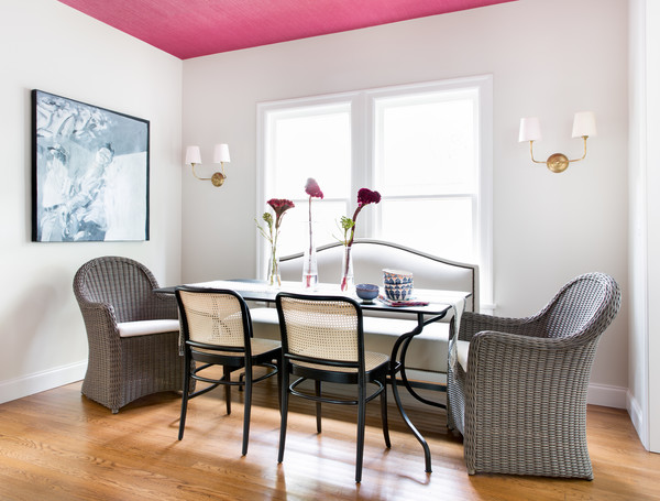 Pink Dining Room Photos (18 of 70)
