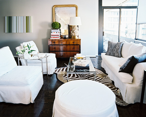 Laurann claridge photos design ideas remodel and decor for Living room ideas with zebra rug