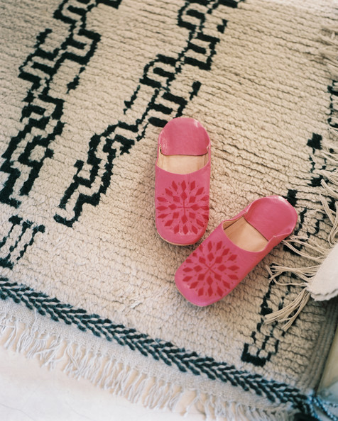 Pink Slippers Photos (1 of 2)