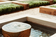 A serene water feature
