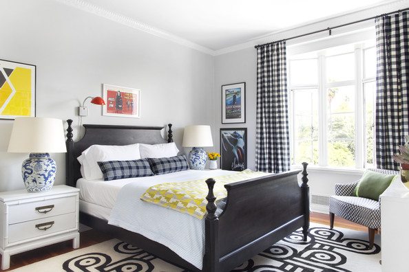Gingham Curtains Photos Design Ideas Remodel And Decor