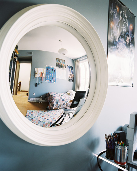 Bedroom Posters Photos 1 Of Modern Details A Convex Mirror