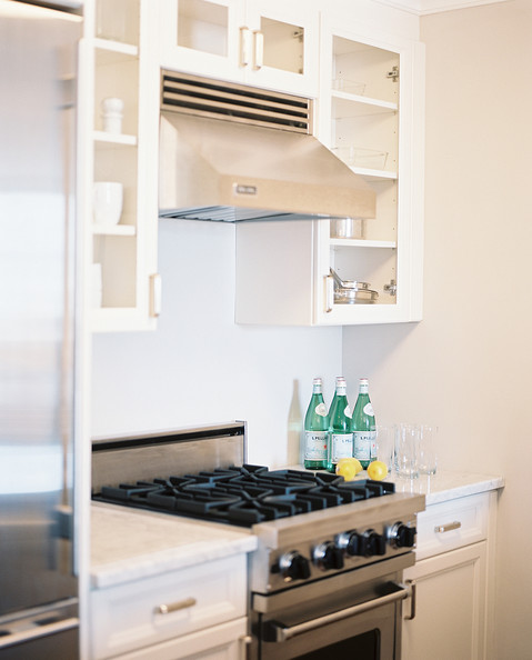 White Kitchen Cabinets With Stainless Appliances: Kitchen Cabinets Photos (32 Of 365)