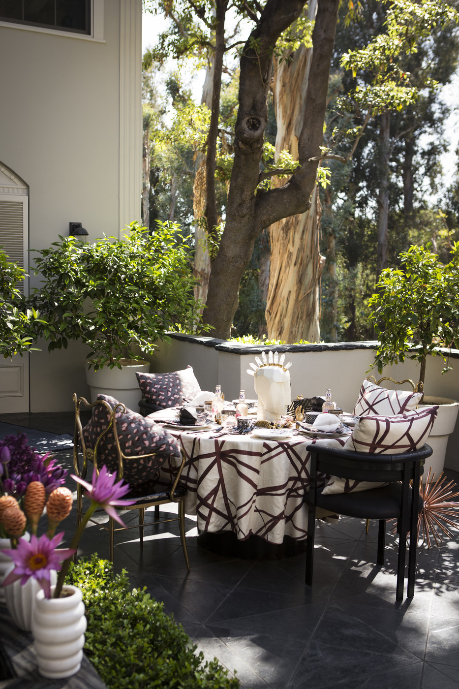 Fancy Outdoor Planters Photos Design Ideas Remodel And