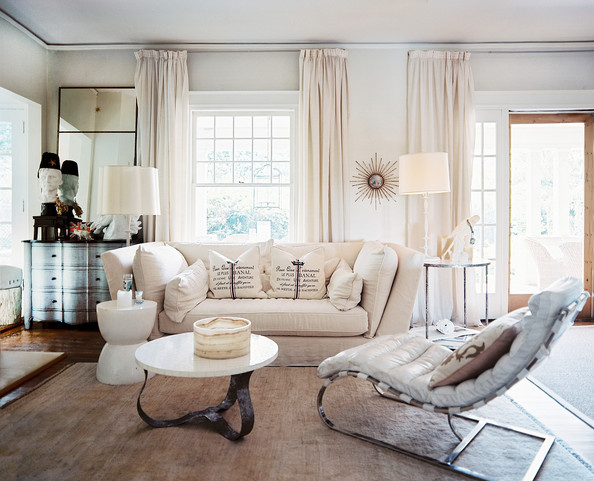 Incredible White Living Room with Curtains 594 x 481 · 90 kB · jpeg
