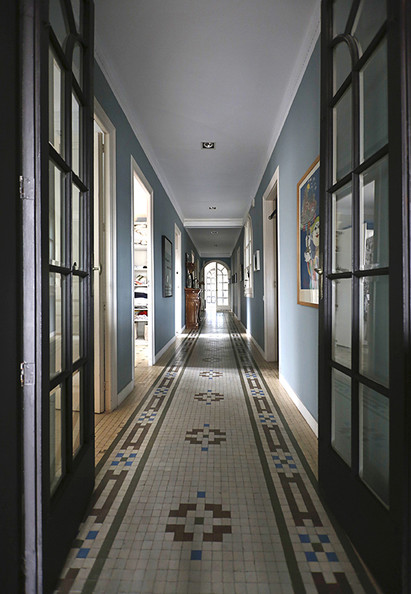 how to say hallway in french