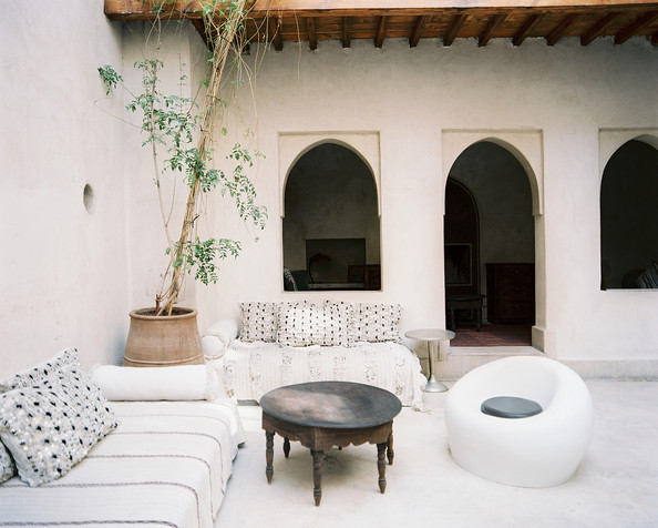 Moroccan+Patio+outdoor+lounge+