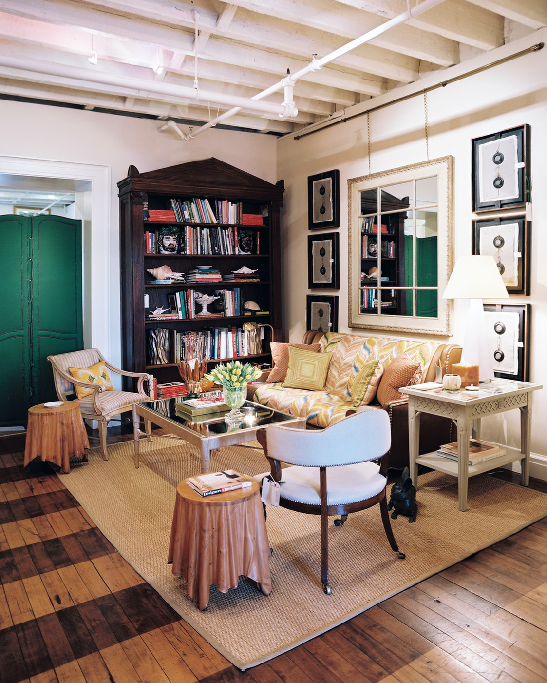 Best Rustic Home Office Design Ideas Remodel Pictures: Rustic Traditional Work Space