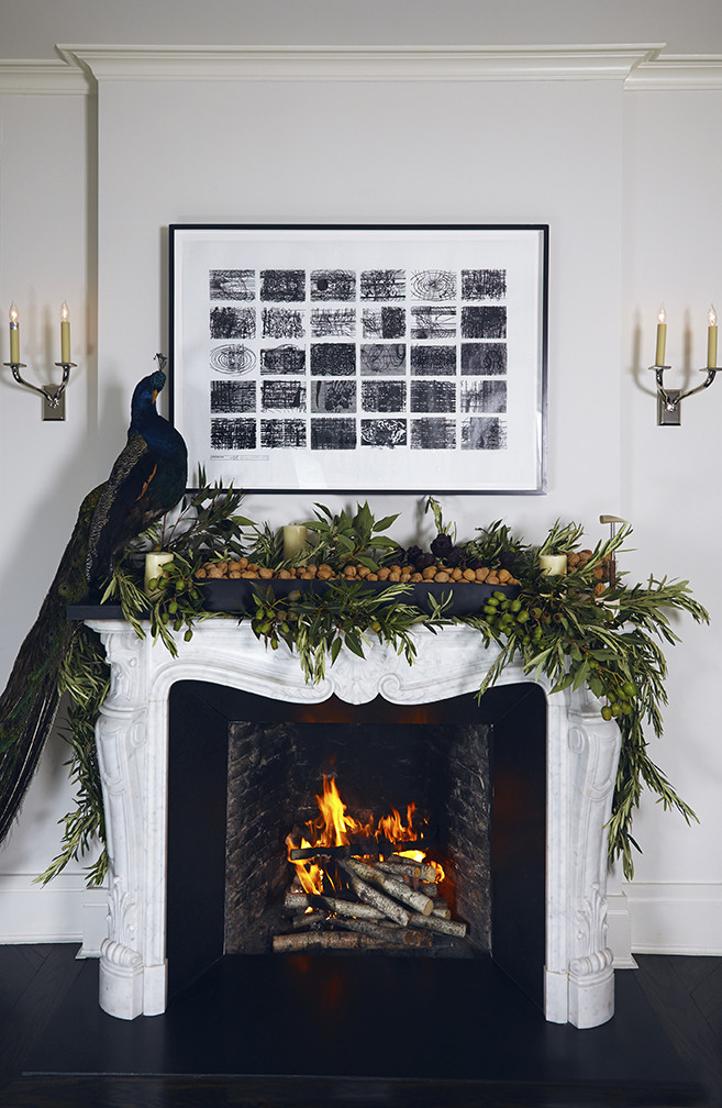 Decorating Idea Of The Day Peacock Feathers For Holiday