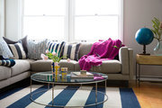 Actress Katie Lowes's LA living room