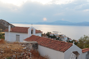 Views of the sea from Hydra, Greece