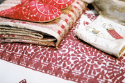 Pillows and folded textiles