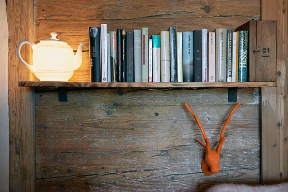 Rustic Bookshelf - Bookself