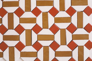 A colorful tile pattern