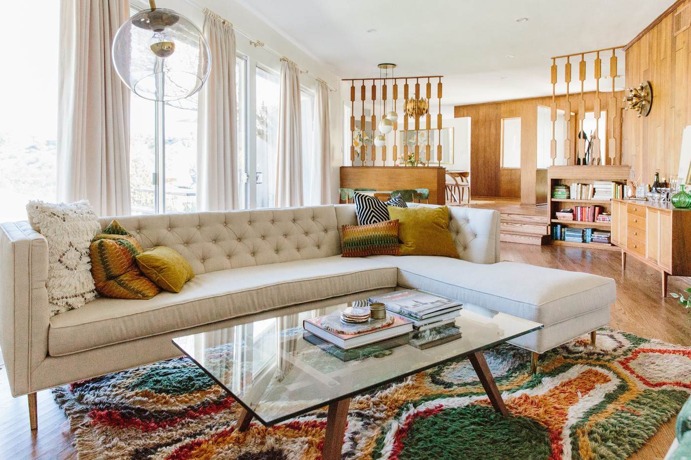 Midcentury living room photos design ideas remodel and - 1950 s living room decorating ideas ...
