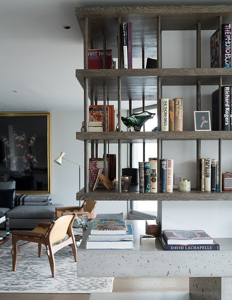 The living room of London designer Tara Bernerd.