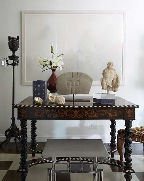 Carved Wood Table Photos (1 of 5) []