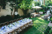 A Bastille Day dinner party in Charleston, South Carolina