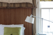 A guest room inspired by Norwegian expeditions