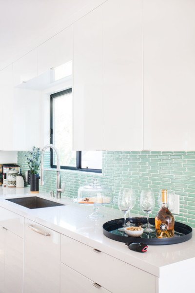 White Kitchen Cabinets Photos (1 of 25) []