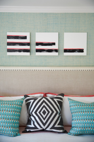 Striped Pillows Photos (1 of 7) []