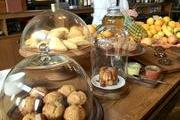 A display of pastries at The Thomas restaurant in downtown Napa