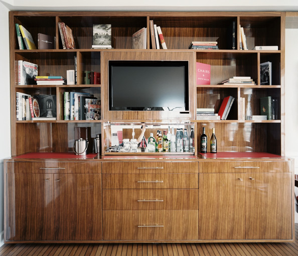 Ideal Bookcase Tv Stand Photos, Design, Ideas, Remodel, and Decor - Lonny TT62