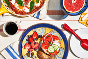 A colorful brunch shot on location in Brooklyn