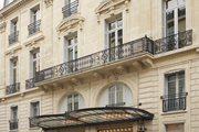 The exterior of Paris's La Maison Champs Elysees