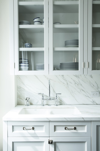 Marble Backsplash Photos (8 of 11) []