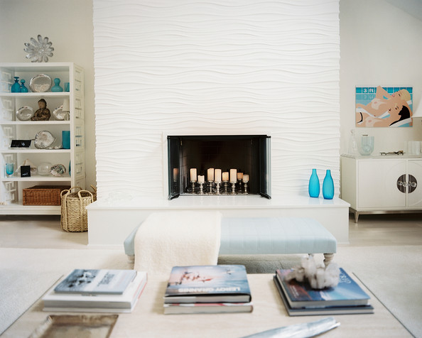 Fireplace Lighting Photos Design Ideas Remodel and Decor  Lonny
