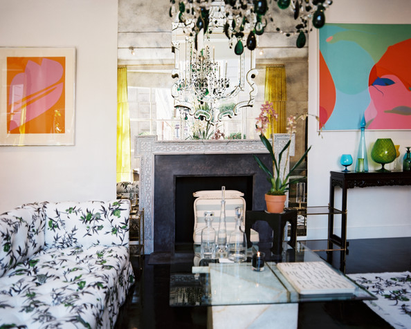Floral Patterned Sofa Photos (1 of 2) []