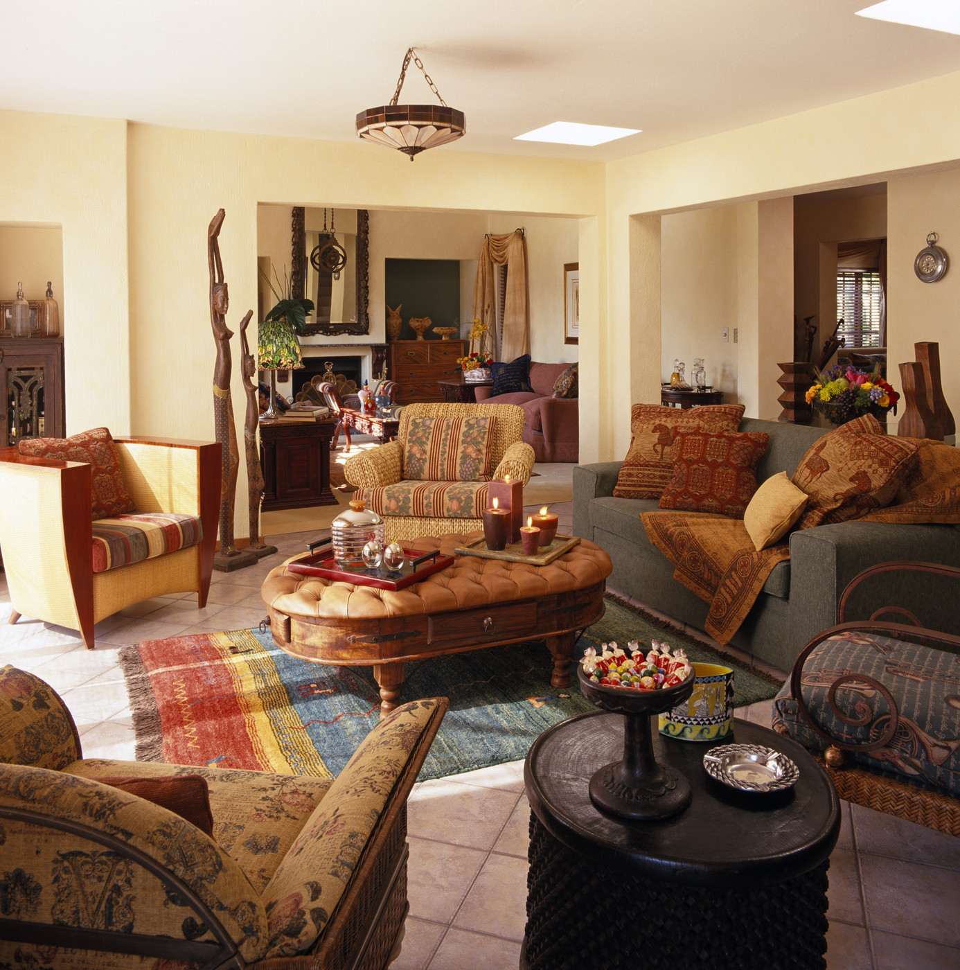 Southwestern Living Room s 4 of 4