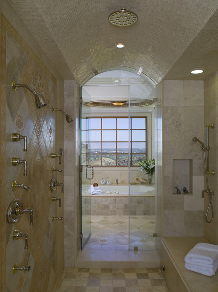 Double shower photos design ideas remodel and decor for Bathroom ideas double shower