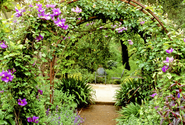 Garden Arch Photos Design Ideas Remodel and Decor Lonny