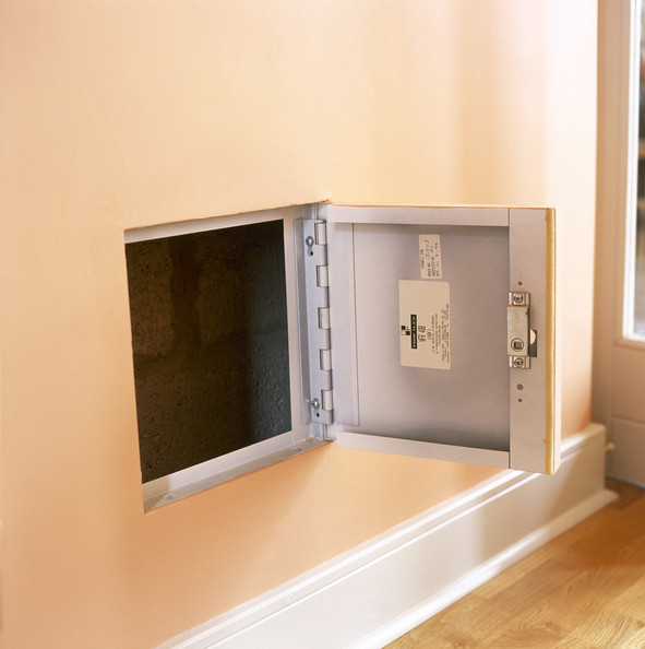 Wall Safe Photos Design Ideas Remodel And Decor Lonny