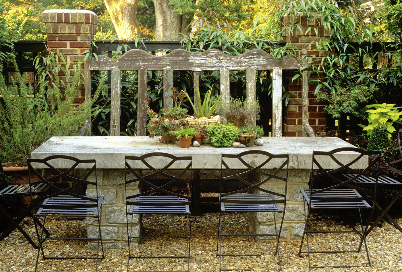crushed stone patio photos 17 of 25