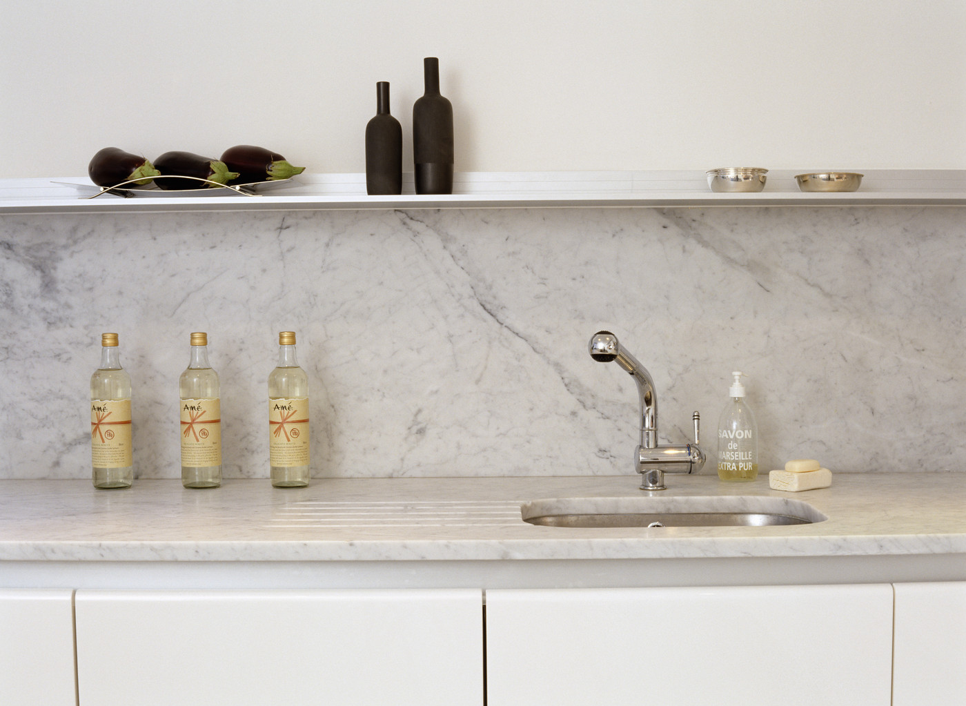 Marble Worktop Photos, Design, Ideas, Remodel, and Decor - Lonny